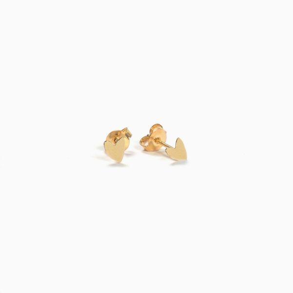 Collection Grant, les boucles d'oreilles dorées