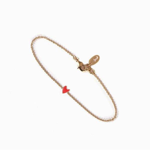Bracelet GRANT Coquelicot