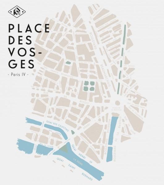Brume Place des Vosges