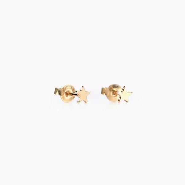 Collection Star, les boucles d'oreilles