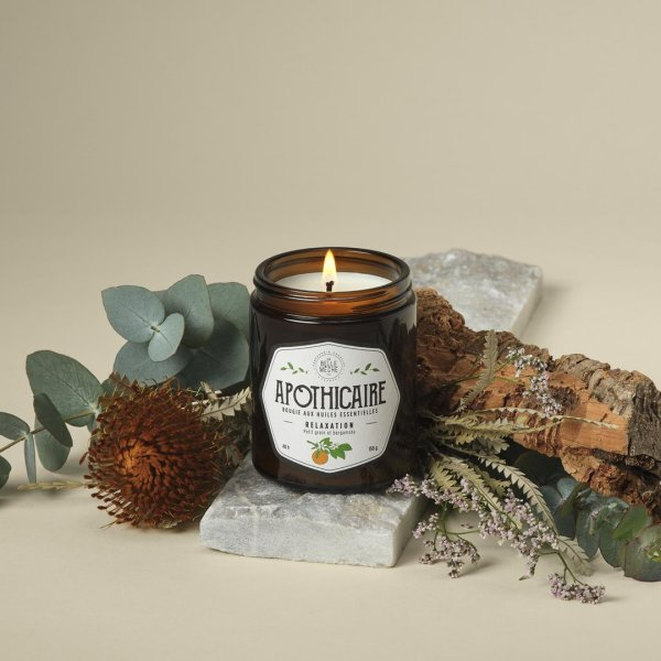 Bougie aux huiles essentielles «Relaxation»