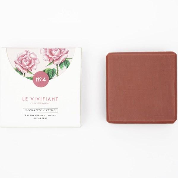 Mini savon bio surgras n°4 argile rose