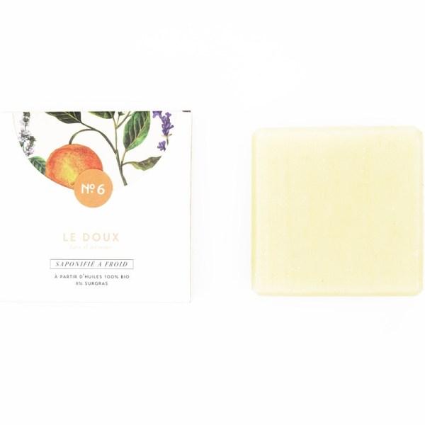 Mini savon bio surgras n°6 au lait d'avoine