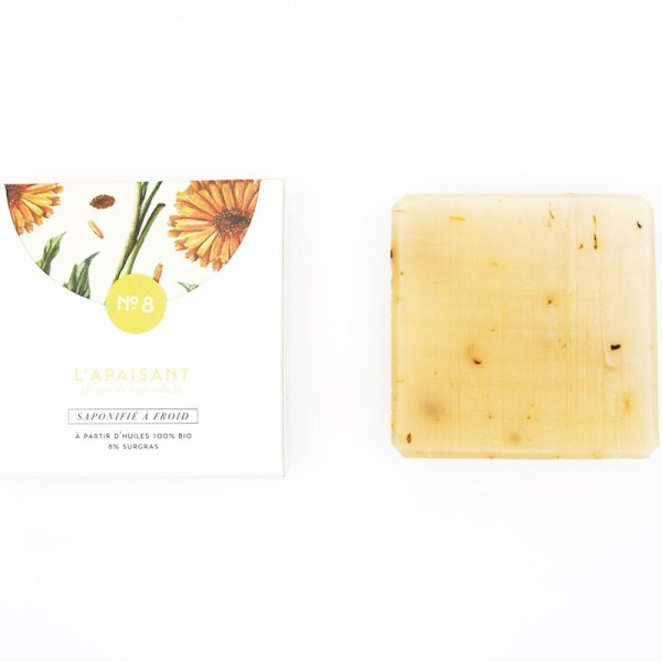 Mini savon bio surgras n°8 au calendula