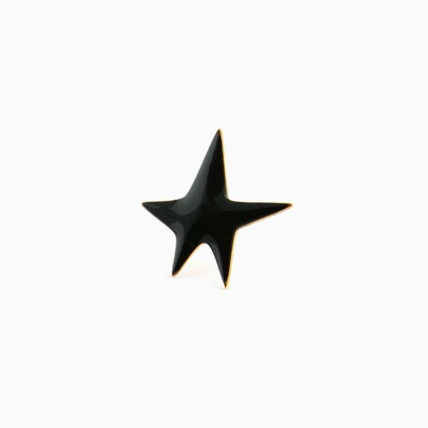Pin's Black Star
