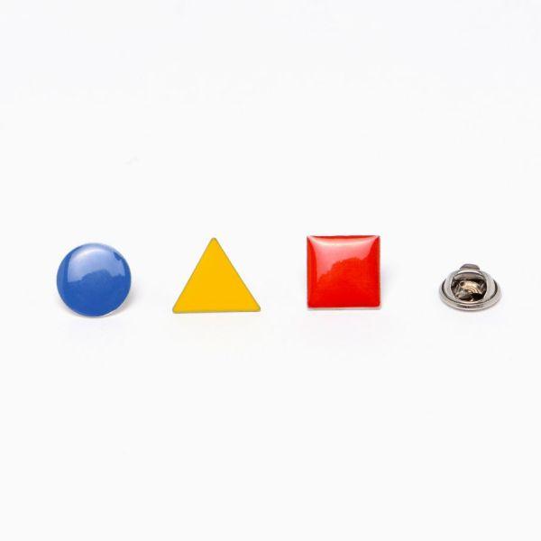 Set de 3 Pin's Bahaus