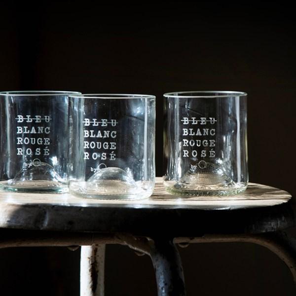 Verres recyclés short drink «BBRR»