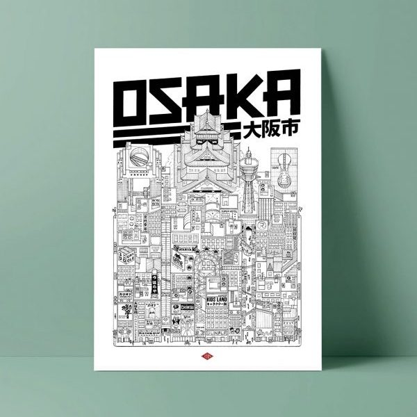 Affiche Osaka