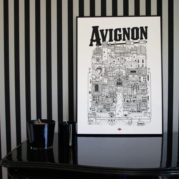 Affiche Avignon