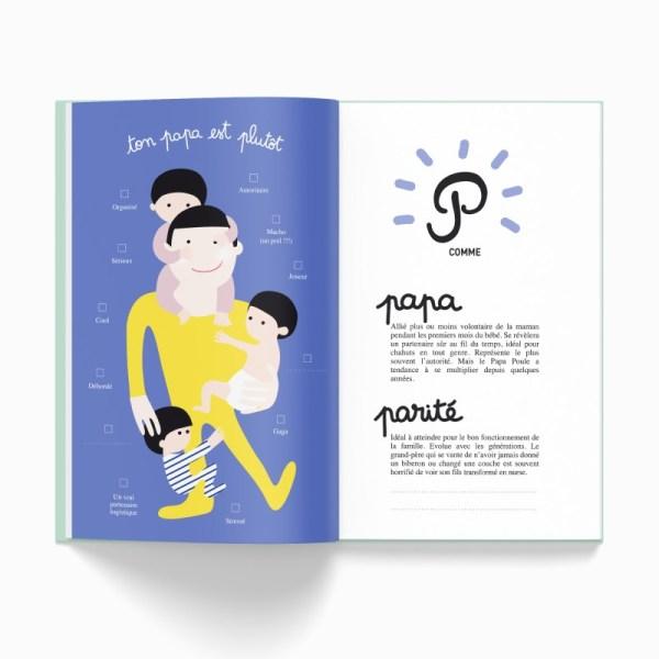 Cahier de naissance, ta première année de A à Z