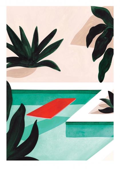 Affiche Léa Morichon – Coconut Groove