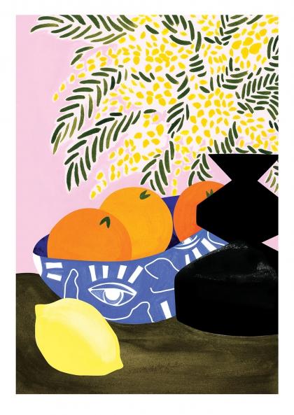 Affiche Léa Morichon – Milan