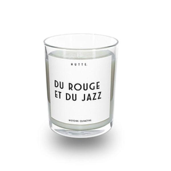Bougie parfumée – Du Rouge et du Jazz