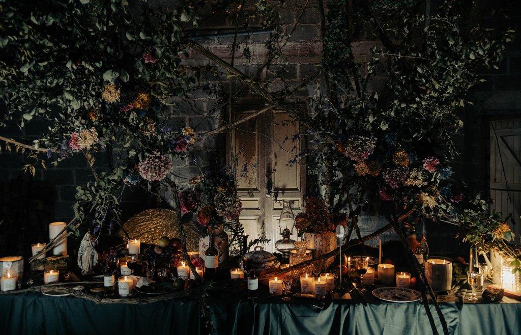 bougies parfumées hutte