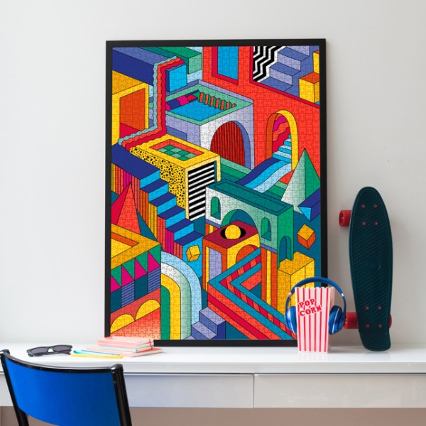 Puzzle 1000 pièces Graphic