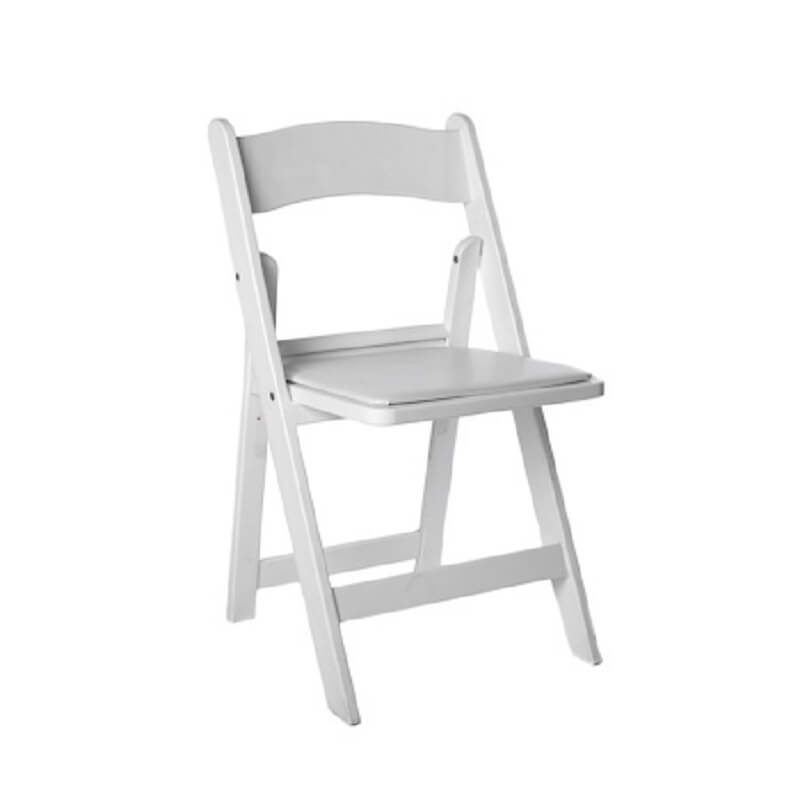 White Folding Chair  CQ Party Hire