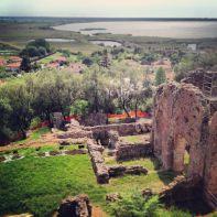 """Questa è la villa dei Venulei, nota famiglia di """"palazzinari"""" pisani dell'epoca romana, I sec .d.C."""