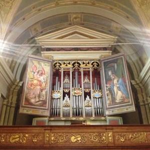 Sesta tappa presso la Pieve di San Michele dove si trova l'organo monumentale di Vincenzo Colonna