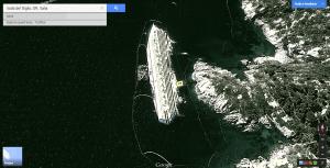 Isola del Giglio - la Costa Concordia