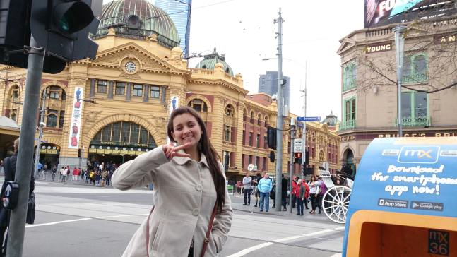CQUniversity student blog - Marcela in the Mlebourne