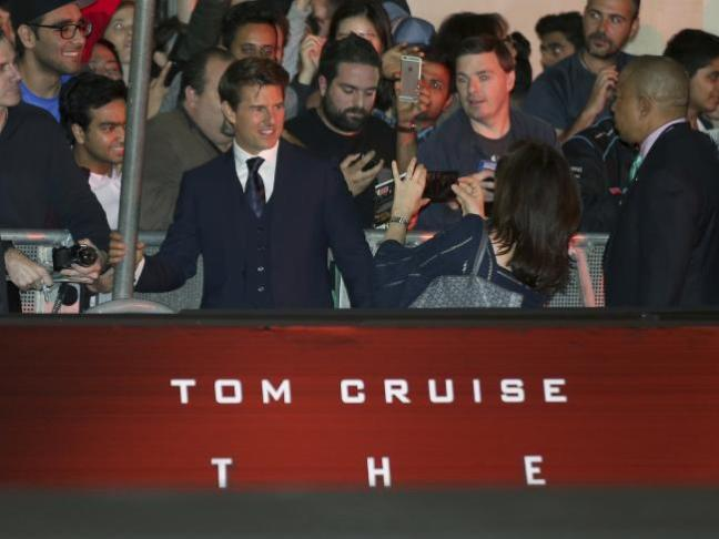 Tom Cruise Mummy Sydney