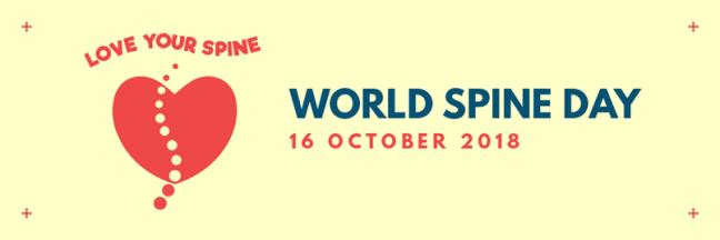 Love your spine - World Spine Day