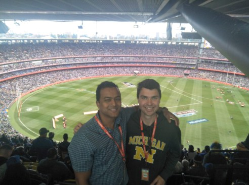 enjoying 2017 footy final with my Australian mate.jpg