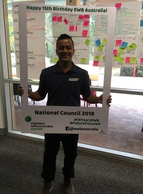 me at EWB National Council