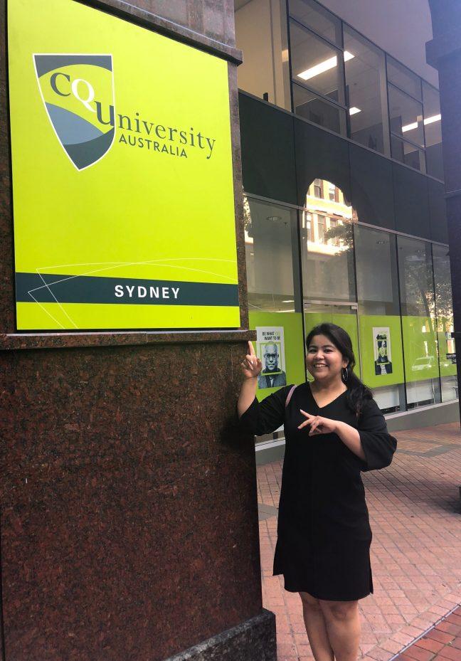 CQUniversity Sydney Krisha Sen