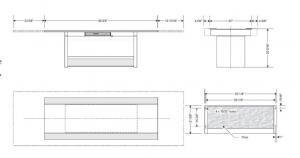 Stylix 2 table dimensions