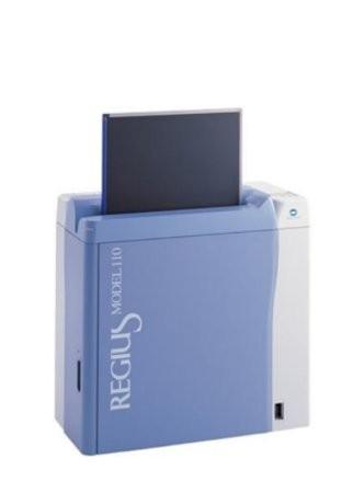 Konica 110 CR reader