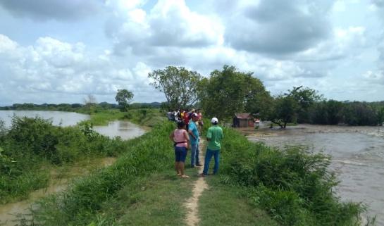 Río Cauca: Río Cauca rompe jarillón en Guaranda y crece riesgo de inundación