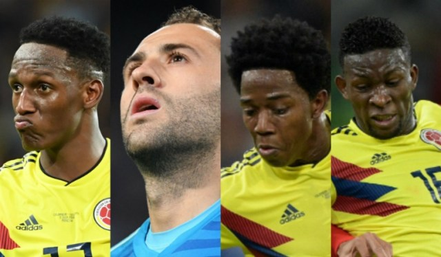 Yerry Mina, Carlos Sánchez, Carlos Bacca, Selección Colombia: Jugadores de Selección con futuro incierto a días del cierre del mercado