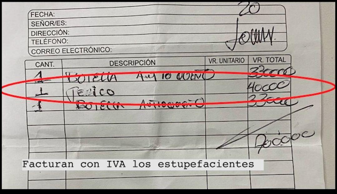 Perico a la carta y facturado con IVA en rumbas del norte de Bogotá