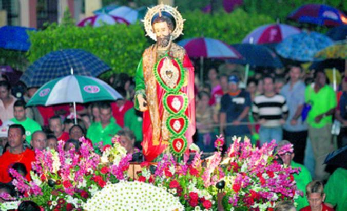 Santo Judas Tadeo Clear