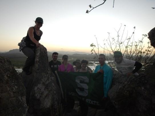 Study Abroad Group at La Roca