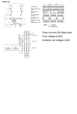 3 phase 240v motor wiring diagram crossover speaker cr4 - thread: how to wire a 3-phase contactor and timer
