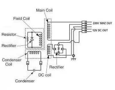 Alternator And Charging System Circuit Wiring Diagram 64 4