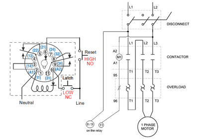 Octal Relay Wiring Diagram on 5 pin relay wiring diagram
