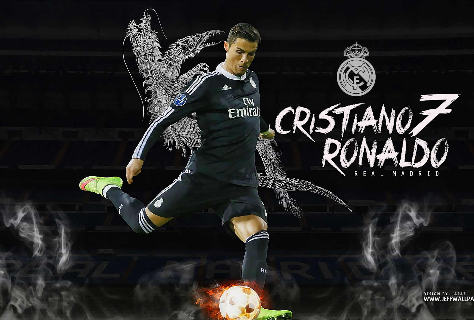 Cr7 Wallpaper Iphone Cristiano Ronaldo Real Madrid Wallpaper By Jafarjeef