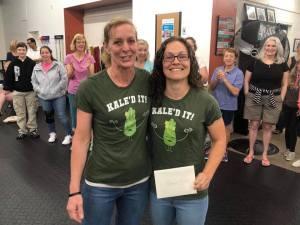 Coach Nancy with Katie