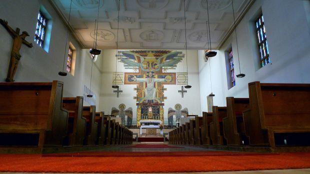 Sterrer Christ the King mural