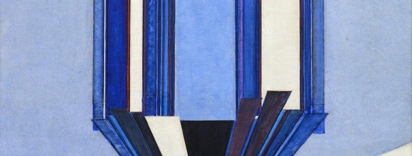 František Kupka: Blue Shape A II, 1919-24