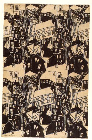 Emil Stejnar: Kinetist Ornamental Design, 1920