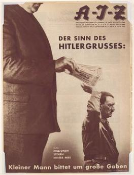 John Heartfield: The Hitler Salute (1932)