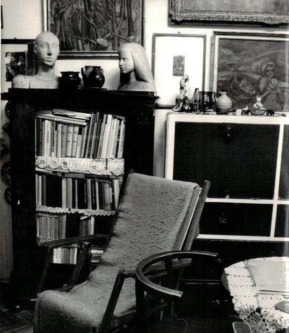 István Dési Huber's home in Ipar Street