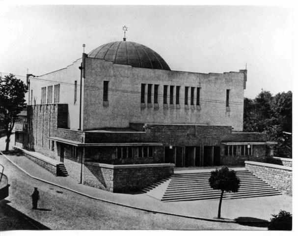 Žilina synagogue designed by Peter Behrens