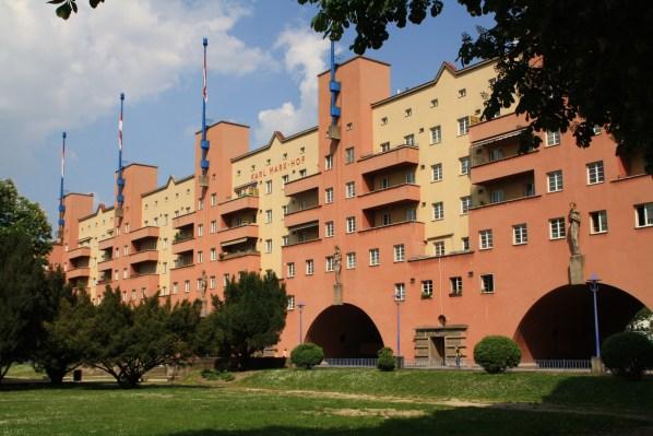 Karl-Marx-Hof, designed by Karl Ehn