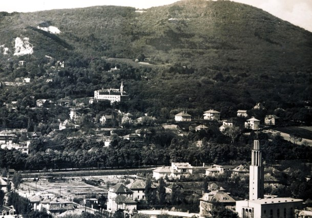 View of Pasarét, Budapst, in 1938