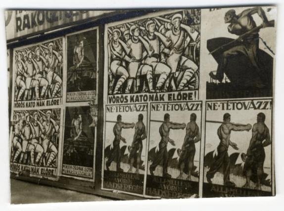Hungarian Soviet republic posters photo